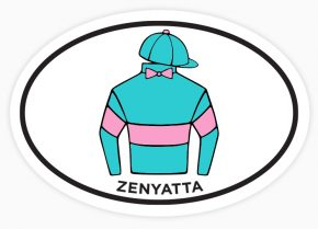 Donate to Thoroughbred Rehab Center with the purchase of the 2016 Celebration Sticker.
